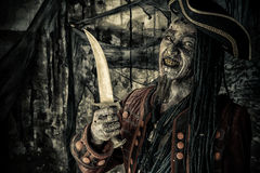Pirata com punhal fotos de stock royalty free