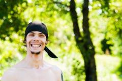 Pirata con una sonrisa Fotografía de archivo libre de regalías