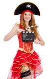 Pirata da mulher Fotos de Stock Royalty Free