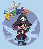 Pirata da navigação Imagens de Stock Royalty Free