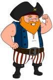 Pirata de la historieta Fotografía de archivo