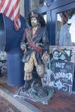 Pirata de vagueamento em Portland Maine foto de stock royalty free
