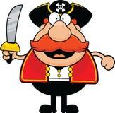 Pirata del fumetto felice Fotografia Stock Libera da Diritti