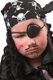 Pirata di Halloween Fotografia Stock