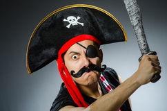 Pirata divertente Immagini Stock Libere da Diritti