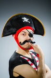 Pirata divertente Fotografia Stock Libera da Diritti