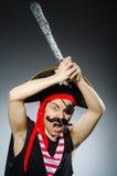 Pirata divertido Fotos de archivo libres de regalías