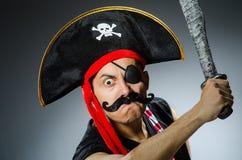 Pirata divertido Imágenes de archivo libres de regalías