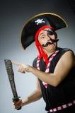 Pirata divertido Foto de archivo libre de regalías