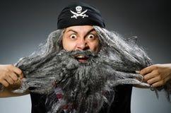 Pirata divertido Imagen de archivo libre de regalías