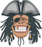 Pirata dos chimpanzés Imagens de Stock Royalty Free