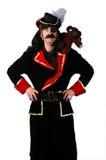 Pirata e urso Imagens de Stock Royalty Free