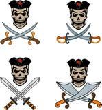 pirata emblemat Obrazy Royalty Free