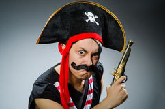 Pirata engraçado Fotos de Stock Royalty Free