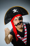 Pirata engraçado Foto de Stock Royalty Free