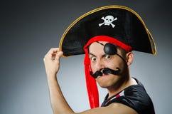 Pirata engraçado Fotografia de Stock