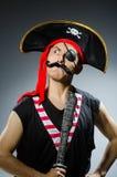 Pirata engraçado Imagem de Stock Royalty Free