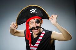 Pirata engraçado Fotografia de Stock Royalty Free