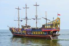 ` pirata ` galeon Obraz Stock
