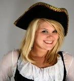 Pirata hermoso Imagen de archivo libre de regalías