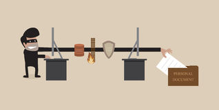 Pirata informatico Immagine Stock Libera da Diritti