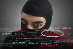 Pirata informatico fotografie stock libere da diritti