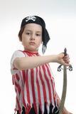 Pirata joven Fotos de archivo libres de regalías