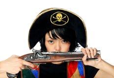 Pirata joven imágenes de archivo libres de regalías