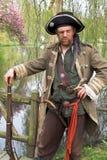 Pirata justo de la fantasía del duende Imagen de archivo