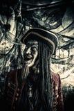 Pirata muerto imagen de archivo libre de regalías