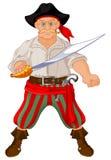 Pirata munito illustrazione vettoriale