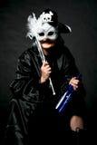Pirata nella mascherina Fotografia Stock
