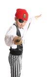 Pirata ou trapaceiro do seafaring Fotos de Stock Royalty Free