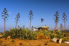 Pirata schronienie Fotografia Royalty Free
