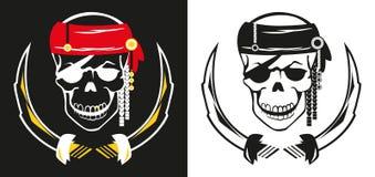 pirata scull Zdjęcie Royalty Free