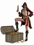 Pirata sexy illustrazione vettoriale