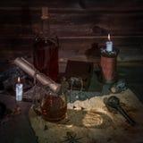 Pirata stół zdjęcia stock