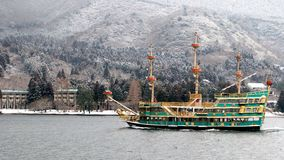 pirata statek Fotografia Royalty Free