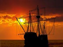 pirata statek Obraz Royalty Free