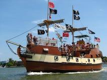 pirata statek fotografia stock