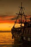 Pirata statek Obrazy Stock