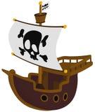 Pirata statek Obraz Stock