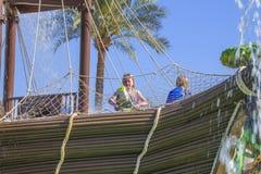 Pirata statek w cleo wody parku, wizerunek 4 Zdjęcie Royalty Free