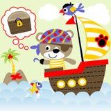 Pirata sveglio royalty illustrazione gratis