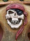 Pirata symbol Obrazy Royalty Free
