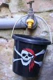 Pirata wiadro fotografia stock