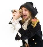 Pirata y monoscope Imagenes de archivo