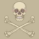 Pirata znak Fotografia Stock