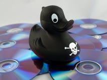 Piratage de musique Photos libres de droits