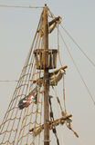 Piratas! Foto de Stock Royalty Free
